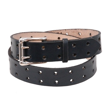 Double Prong Heavy Cowhide Leather Belt