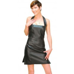 Leathers Genuine Leather Ladies Halter Top