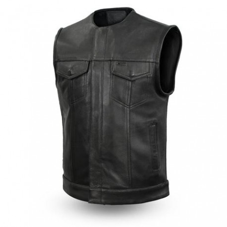 Leather Vest Club style