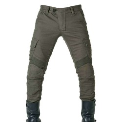 SPIRT UP MOTORCYCLE JEANS - BLACK