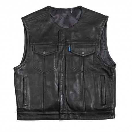 BORN  LOWSIDE  SAINT ROCK  LEATHER JACKET