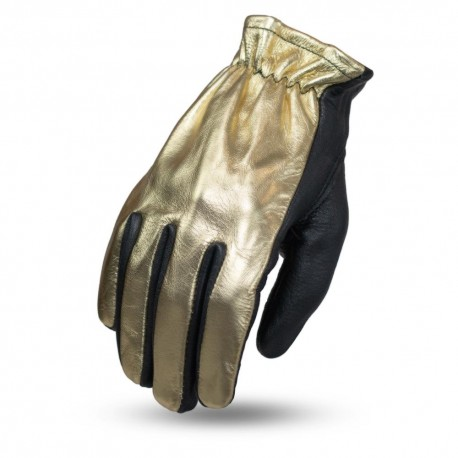 Women's unlined short cuff MC glove featuring touch tech fingers.