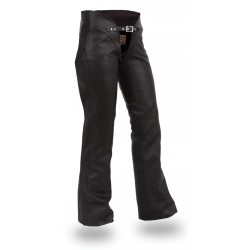 Womens chap leather pant