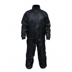 Heavy Duty nylon main zipper with rain cover that Velcros down